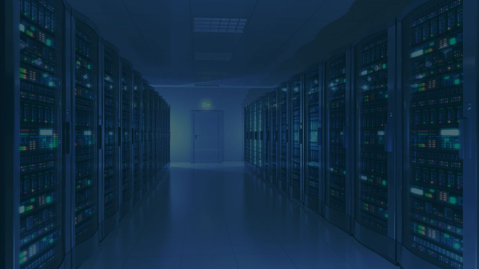 datacenter web hosting room