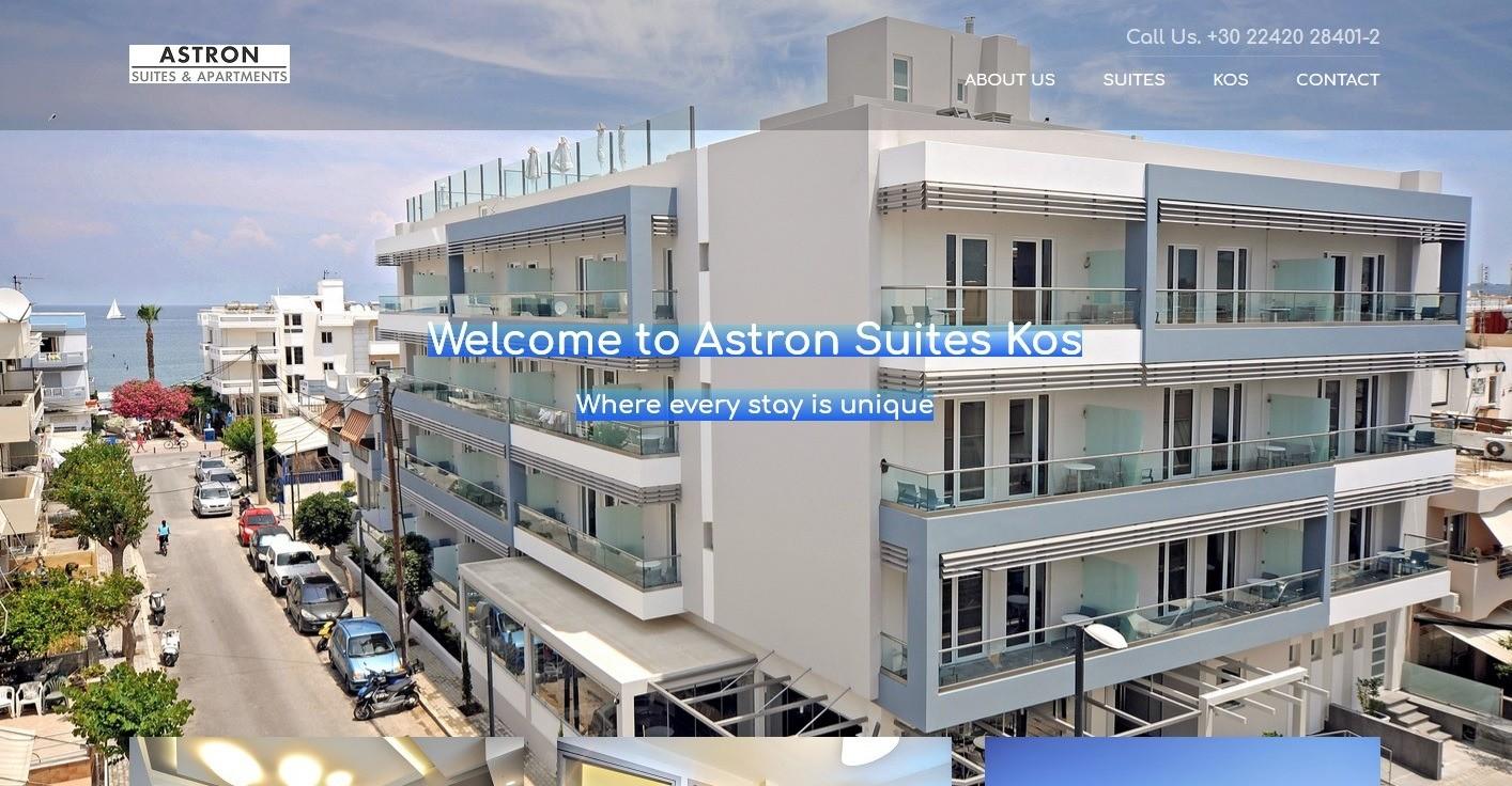 suites web site